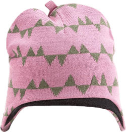 Eaglet Knitted Flap Cap Pink