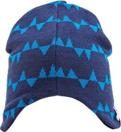 Eaglet Knitted Flap Cap Blue