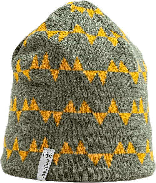 Hawk Knitted Cap Green