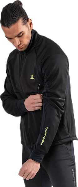 Bruksvallarna Pro Softshell Jacket Black/Yellow