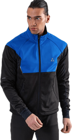 Bruksvallarna Pro Softshell Jacket Blue/Black