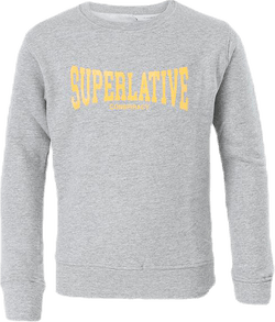 Superlative Crewneck Jr Grey
