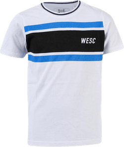 Striped Tee Youth White