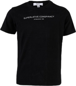 Superlative Conspiracy Logo Tee Youth Black