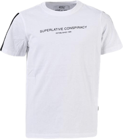 Superlative Conspiracy Logo Tee Youth White