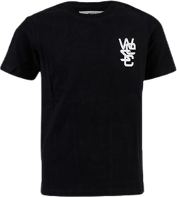 WeSC Logo Tee Youth Black