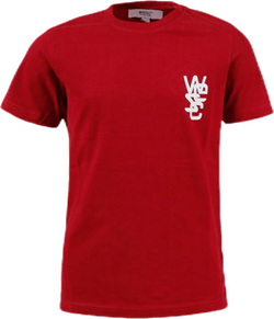 WeSC Logo Tee Youth Red