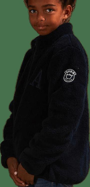 Melissa Jr Pile Jacket Blue