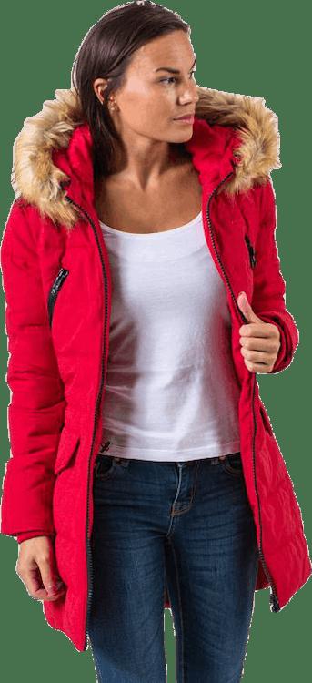 Joy Jacket Red