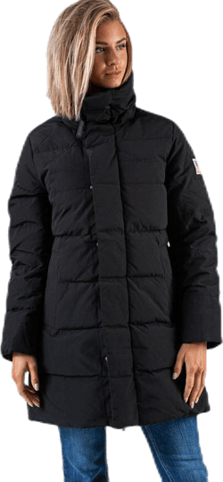 Slim Fit Padded Jacket Black