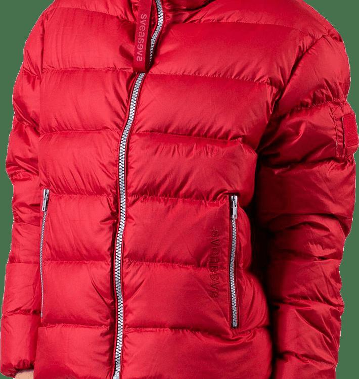 Short Light Weight Jacket Red