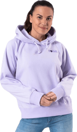 Heart Logo Hood Purple