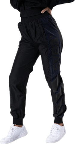 Dark Windbreaker Pants Black