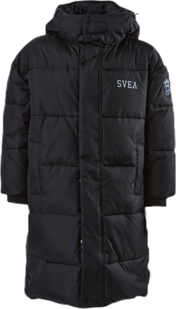 Long Puffer Coat Jr Black