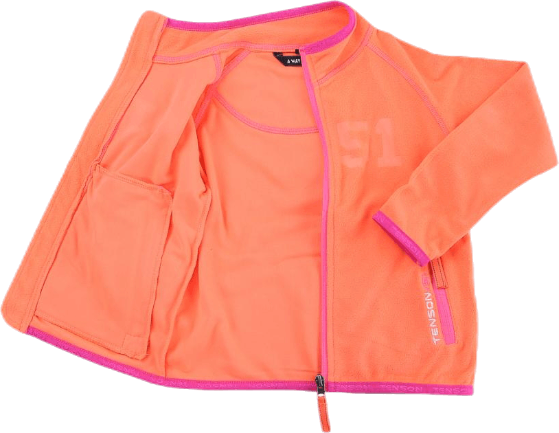 Lou Fleece Orange