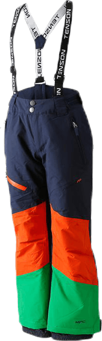 Freddie Ski Pants Blue/Orange