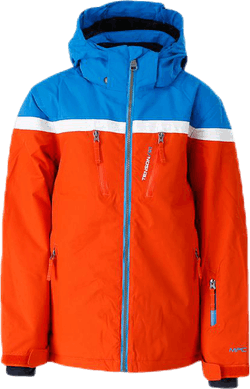 Flynn Ski Jacket Orange/Blue