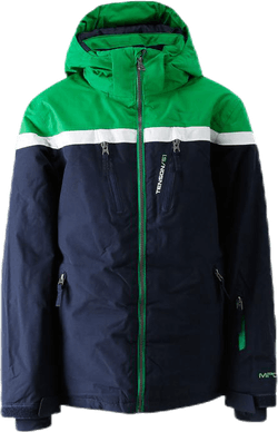 Flynn Ski Jacket Blue/Green