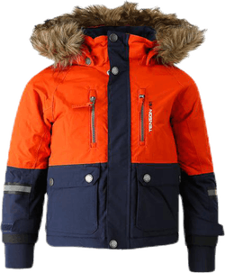 Daxian Ski Jacket Kid Orange