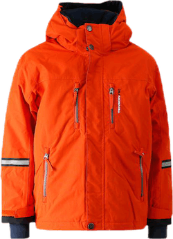 Davie Ski Jacket Kid Orange