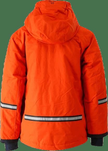 Davie Ski Jacket Kid Orange
