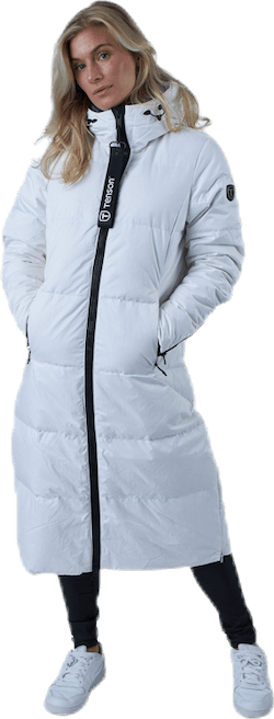 Shanna Down Parka White