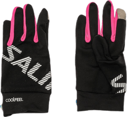 Running Gloves Pink/Black