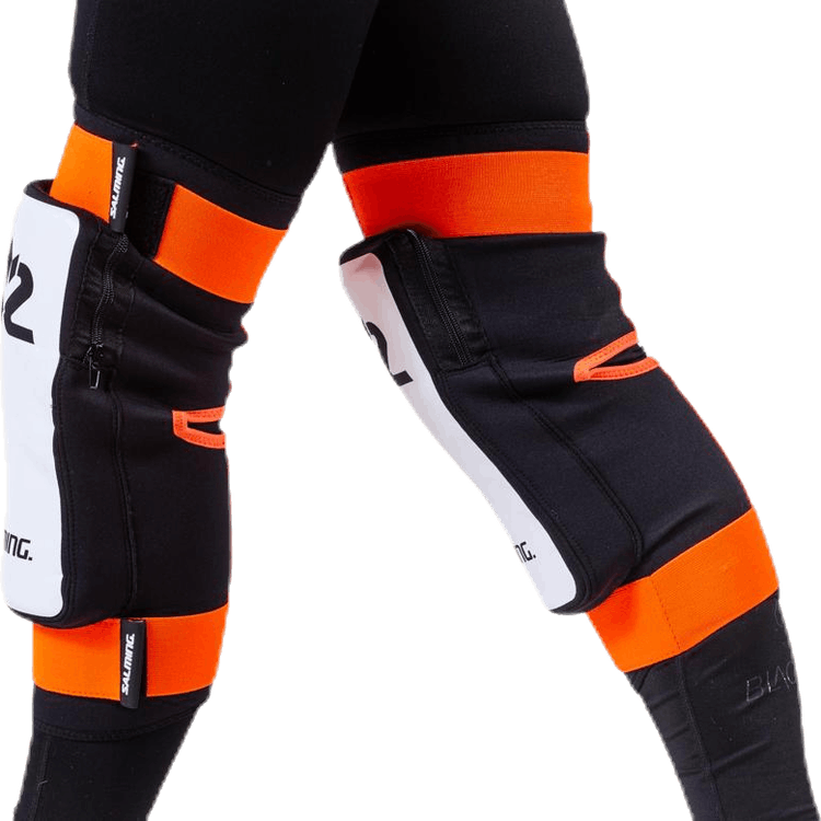 Goalie Kneepads E-Series Orange/White