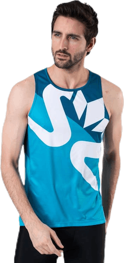 Race Air Tank Blue/Grey
