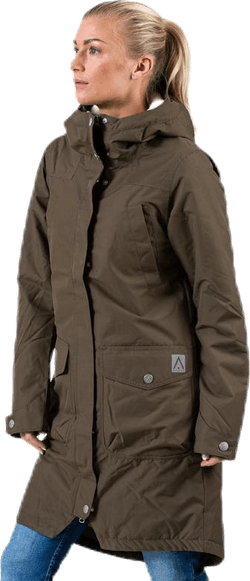 Halo Parka Brown