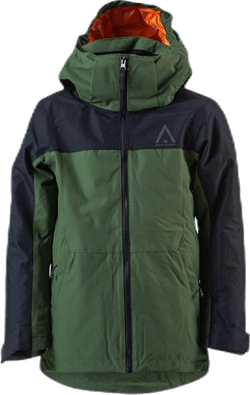 Split Jacket Youth Black/Green
