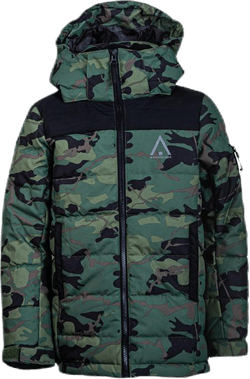 Polar Youth Puff Jacket Patterned/Green