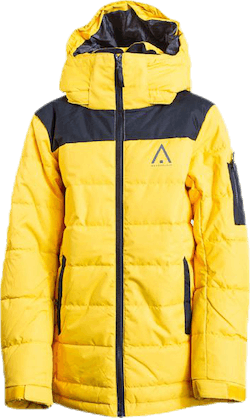 Polar Youth Puff Jacket Black/Yellow