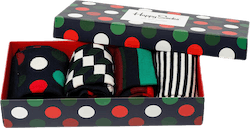 Holiday Big Dot 4-pack Gift Box Red