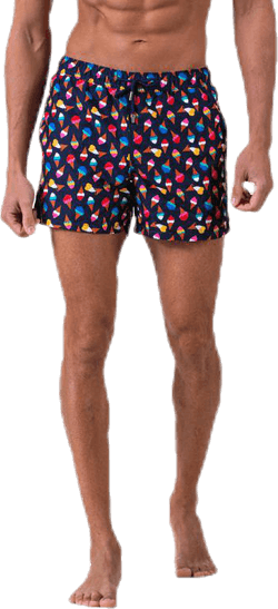 Ice Cream Swim Shorts Blue