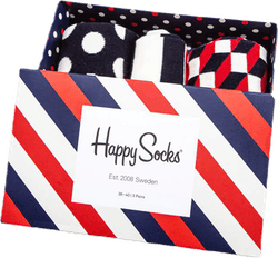 Classic Stripe 3-pack Gift Box  Patterned