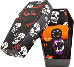 Halloween 3-pack Gift Box Black