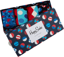 Navy 4-pack Gift Box Blue