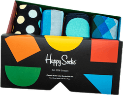 Classic Multi-Color 4-Pack Gift Box Patterned