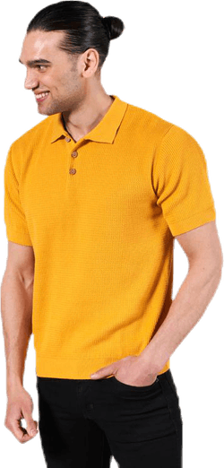 Short Sleeve Gnesta Yellow