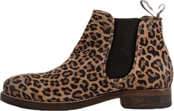 Halligan Suede Boots Patterned