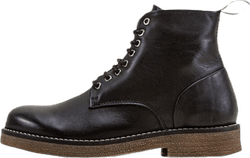 Rummy Leather Boots Black