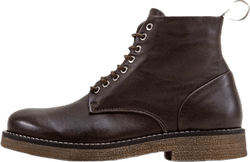 Rummy Leather Boots Brown