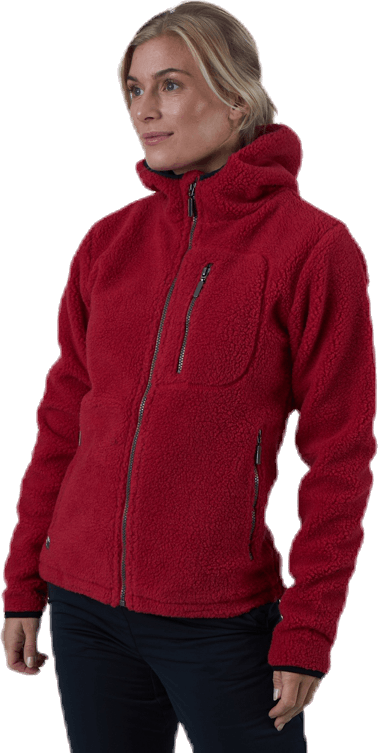 Hedley Jacket Red