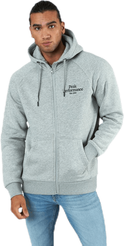 Original Zip Hood Grey