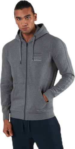 Ground Zip Hood Grey