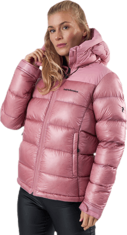 Frost Glacier Down Hood Pink
