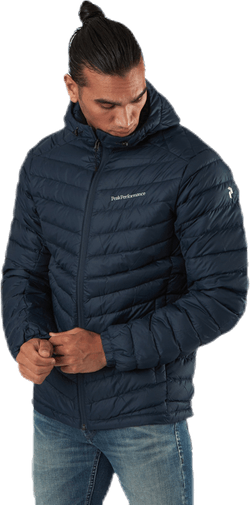 Frost Down Hood Jacket Blue