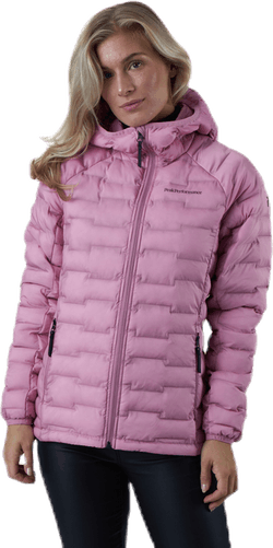 Argon Light Hood Jacket Pink