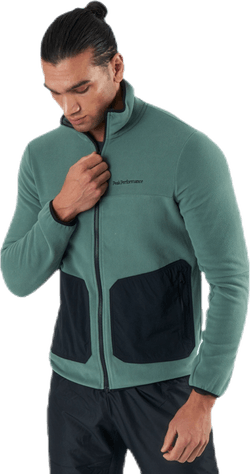 Tech Soft Zip Jacket Green